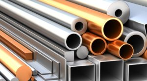 Steel and copper tubing